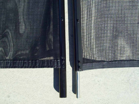 Mesh and Pole Comparison